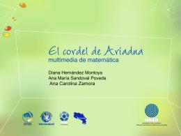 Presentación - El cordel de Ariadna