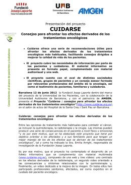 CUIDARSE - Fundació Salut i Envelliment UAB