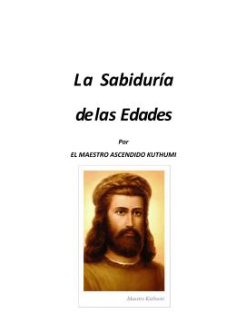 LORD KUTHUMI LA SABIDURÍA DE LAS EDADES