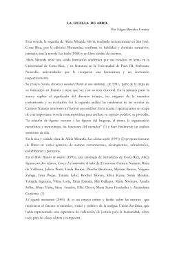 LA HUELLA DE ABRIL - Editorial Montemira