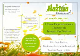 folleto TIP 2012 - Haztúa Psicología Positiva
