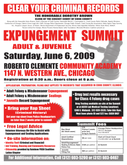 Expungement Summit