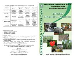 folleto ingeniero agrónomo