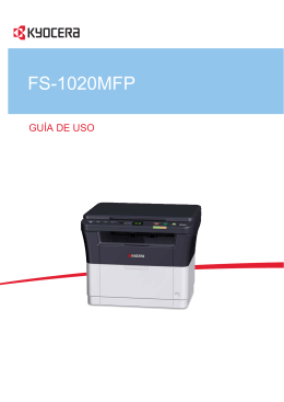 FS-1020MFP - KYOCERA Document Solutions
