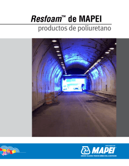 Resfoam™ de MAPEI