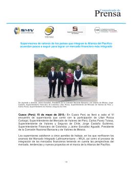 Bogotá, Diciembre 9 de 2010 - Comisión Nacional Bancaria y de
