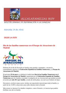 ALCALAFAMILIAS HOY