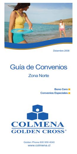 Guía de Convenios - Colmena Golden Cross