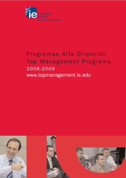 Folleto AD 17x24 - IE Executive Education