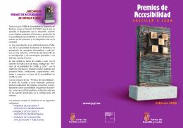 Premios de Accesibilidad - Colegio Oficial de Arquitectos de Castilla