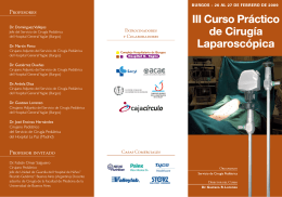 III CURSO CIRUGIA (FOLLETO)