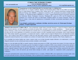 CURSO CME INTRODUCTORIO