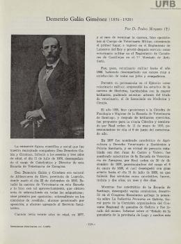 Demetrio Galán Giménez (1856