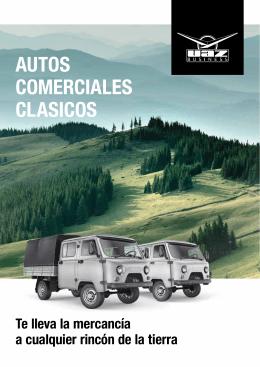 AUTOS COMERCIALES CLASICOS