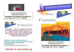 folleto jornadas PRIMAVERA 2012 def