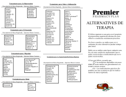 alternatives brochure spanish