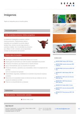Bajar PDF Factsheet