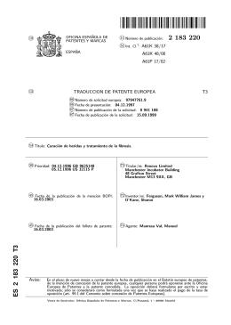 CICATRIZACION DE HERIDAS Y TRATAMIENTO DE LA FIBROSIS