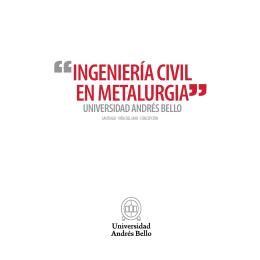 ingeniería civil en metalurgia - Facultades