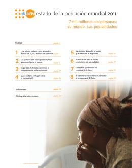 Estado de la Población Mundial 2011 - PDF.