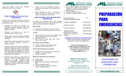 preparación para emergencias - Middlesex