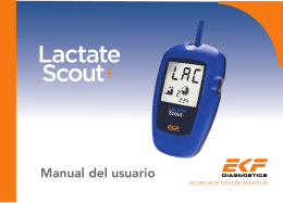 Descargar Manual de Instrucciones Completo del Lactate