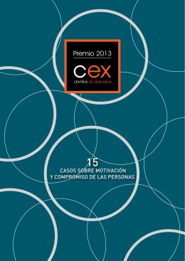 Premio CEX 2013 - Centros de Excelencia