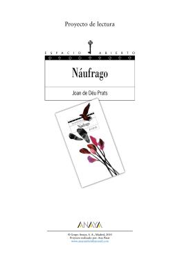 Náufrago (Proyecto de lectura)