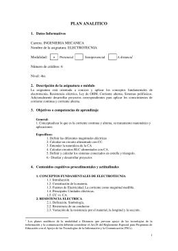 PLAN ANALITICO - Consultores.EC