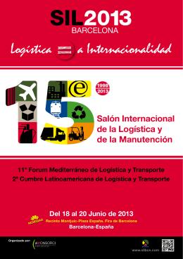 Logística a Internacionalidad - Salón Internacional de la Logística y