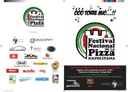 gastronomía 1er Festival Nacional de la Pizza de España.