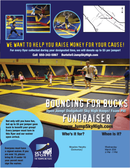 bouncing for bucks fundraiser - Meadow Heights Elementary School