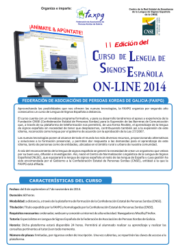 Folleto CLSE On-line 2014 2 Edicion