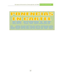 XII Congreso Internacional en Ciencias Agrícolas. ICA