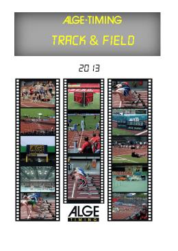 Catálogo Atletismo