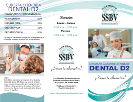 DENTAL D2 - Plan Médico Salud Bella Vista