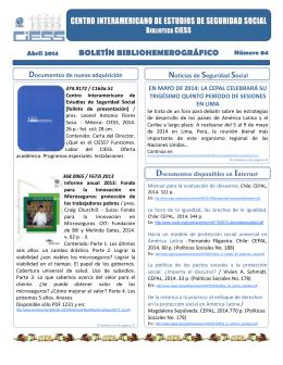 Ver Boletín - Boletín Informativo