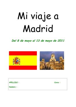 Del 8 de mayo al 13 de mayo de 2011
