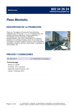 Pass Montoliu