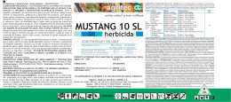 MUSTANG 10 SL herbicida