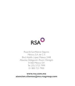 Royal & SunAlliance Seguros México, S.A. de C.V.