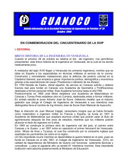 Guanoco No 26 - Sociedad Venezolana de Ingenieros de Petroleo