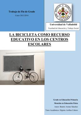 la bicicleta como recurso educativo en los centros