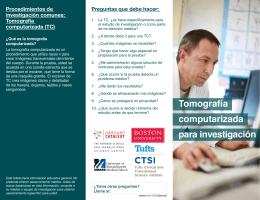 Tomografía computarizada para investigación