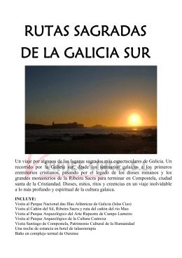 RUTAS SAGRADAS DE LA GALICIA SUR
