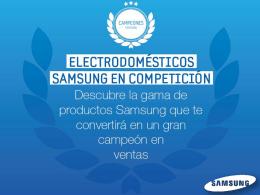 Plan de incentivos campeones Samsung