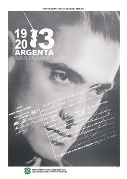 centenario ataúlfo argenta 1913-2013 0