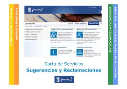servicios presta dos - Ayuntamiento de Madrid
