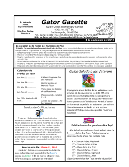 Gator Gazette