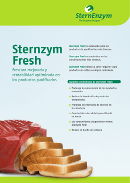 Sternzym Fresh - The Enzyme Designer